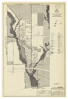 Exhibit F of zoning by-law 1587 passed august 2nd 1955 : land use plan Bowmanville planning area