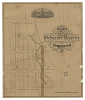 Plan of part of the Ordnance Reserve Toronto