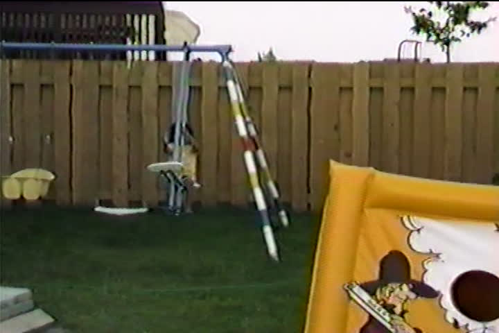 Jog family videos : backyard