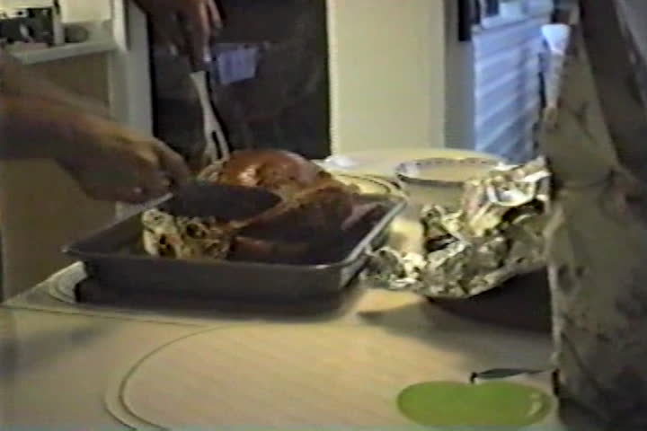 Jog family videos : turkey dinner