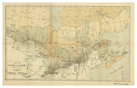 Map of Ontario and Quebec [1900]
