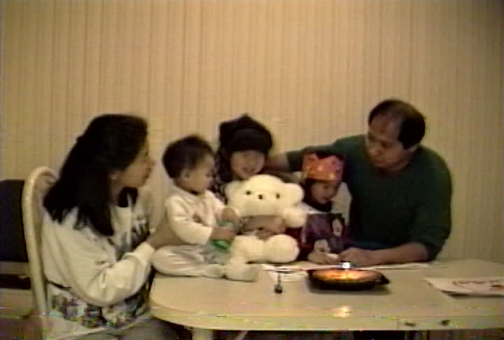 Wong family videos : first birthday celebration