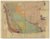 Geological map of the Dominion of  Canada [1901]