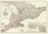 Electoral map of the Province of Ontario: map no. 33a [1955]