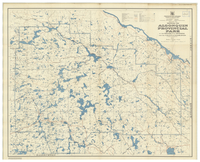 Map No 47a showing the Algonquin Provincial Park in the District of Nipissing and the County of Haliburton [1947]