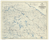 Map No 47a showing the Algonquin Provincial Park in the District of Nipissing and the County of Haliburton [1956]