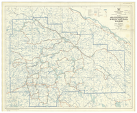 Map 47a Algonquin Provincial Park in the District of Nipissing and the County of Haliburton [1960]