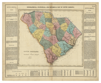 Geographical, Statistical, and Historical Map of South Carolina No. 24.