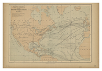 Atlantic Ocean &c. Shewing the Communication between Europe, North America and the Pacific. [c1867]