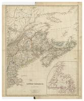 Lower Canada &c by J. Arrowsmith. [1834]