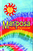 Mariposa Folk Festival 2010 program