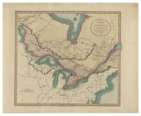 A New Map of Upper & Lower Canada, from the Latest Authorities by John Cary, Engraver. 1807.