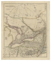 Upper Canada by J. Arrowsmith. 1837.