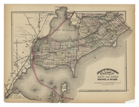 Atlas of the Dominion. Counties of Kent and Essex. Province of Ontario.