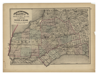Atlas of the Dominion. Counties of Middlesex, Elgin, Lambton. Province of Ontario.