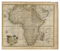 A New and Accurate Map of Africa. Drawn from the best & most approved Modern Maps and Charts and regulated by Astronomical Observations by Eman Bowen.