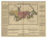 Geographical, Statistical, and Historical Map of Upper and Lower Canada, and the Other British Possessions in North America. [Sheet 1]
