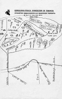 Map of Petticoat Creek Park, Pickering, Ontario