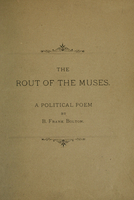 The rout of the muses: a political poem