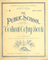 The public school vertical copy book