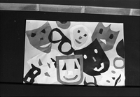 Huron Street School : Childrens Art at Boys and Girls House, Library [not used]