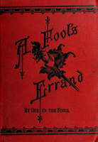 A fool's errand: By One of the fools