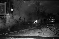 Long Branch, Ont. : Lakeshore Blvd. W. : Store Explosion