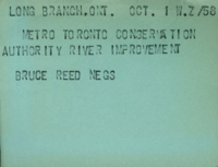 Long Branch, Ont. : Metro Toronto Conservation Authority River Improvement