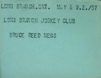 Long Branch, Ont. : Long Branch Jockey Club