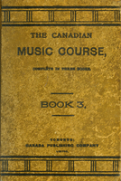 Canadian music course, complete in three books; book three