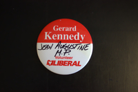 Gerard Kennedy volunteer campaign button