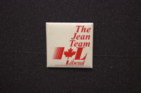 The Jean Team Liberal button