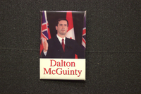 Dalton McGuinty photo with flags button