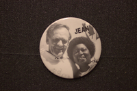 Jean Augustine and Jean Chretien Jean button