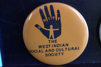 The West Indian Social and Cultural Society button