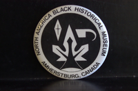 North America Black Historical Museum button