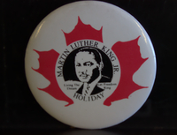 Martin Luther King Jr holiday button