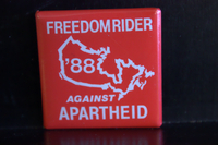 Freedom rider button