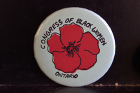Congress of Black Women Ontario button