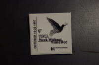 YWCA Week Without Violence button