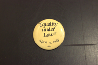 Equality under law button