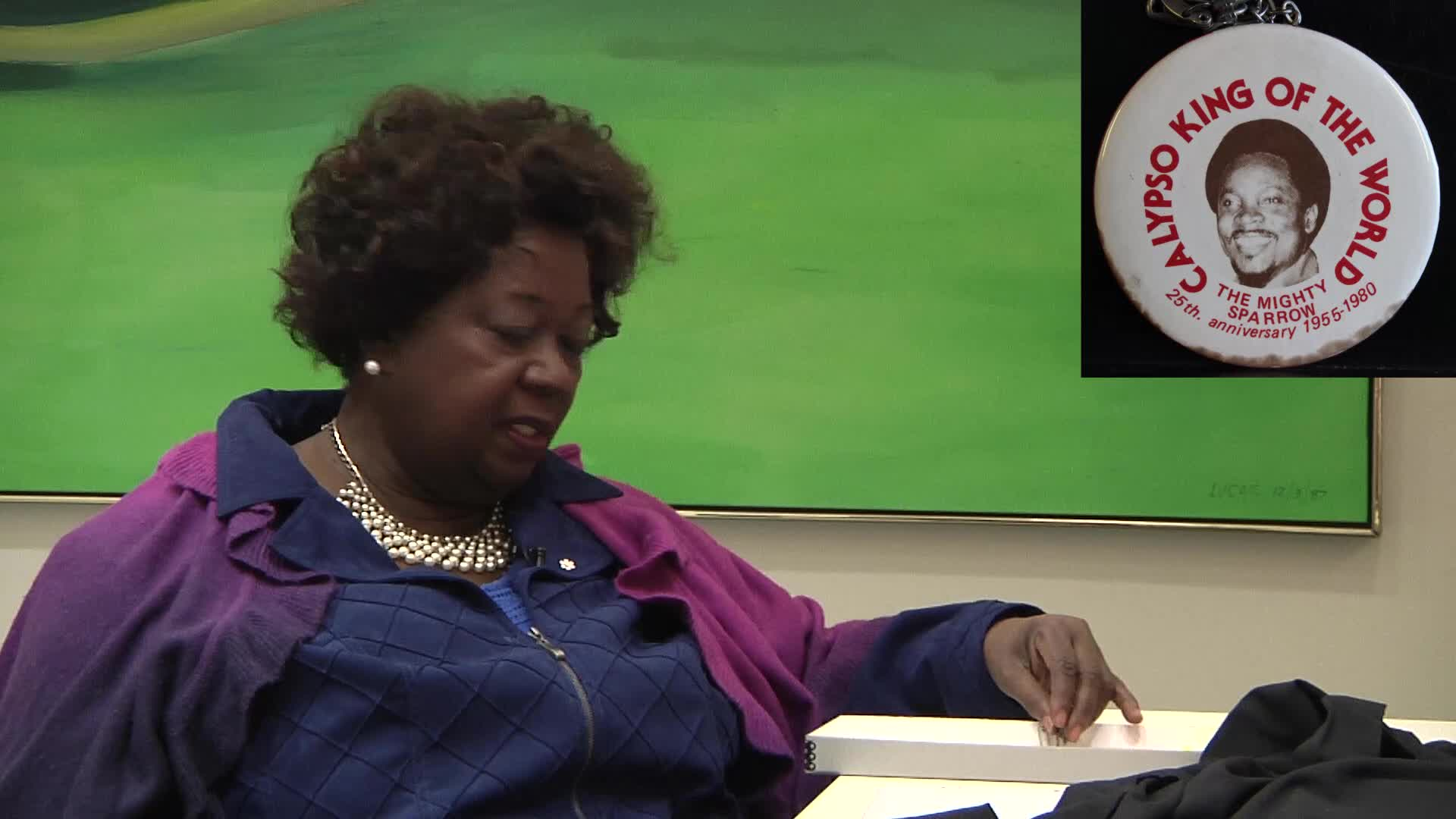 Jean Augustine interview: Calypso King of the World button