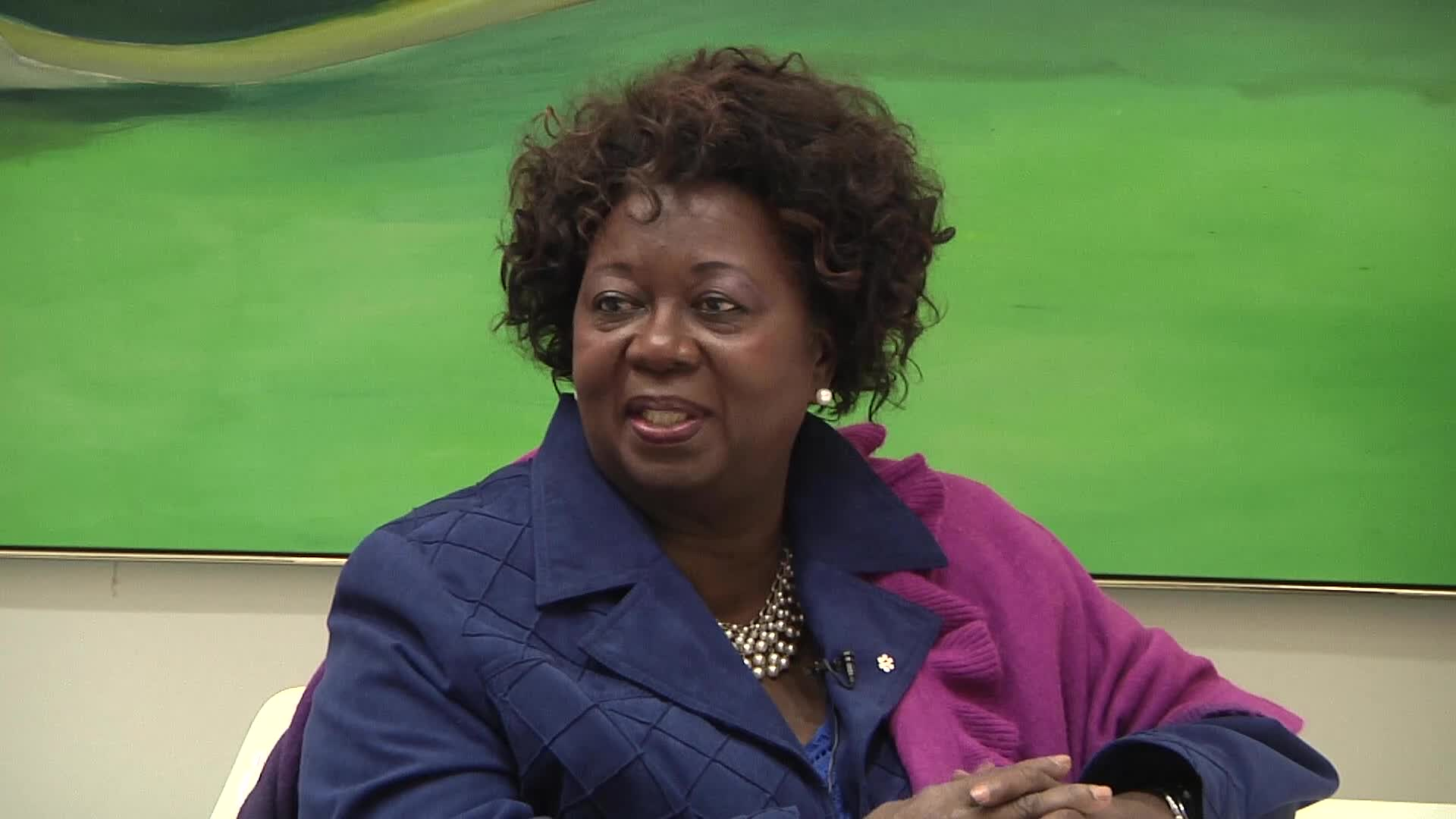 Jean Augustine interview: discusses buttons as identifiers