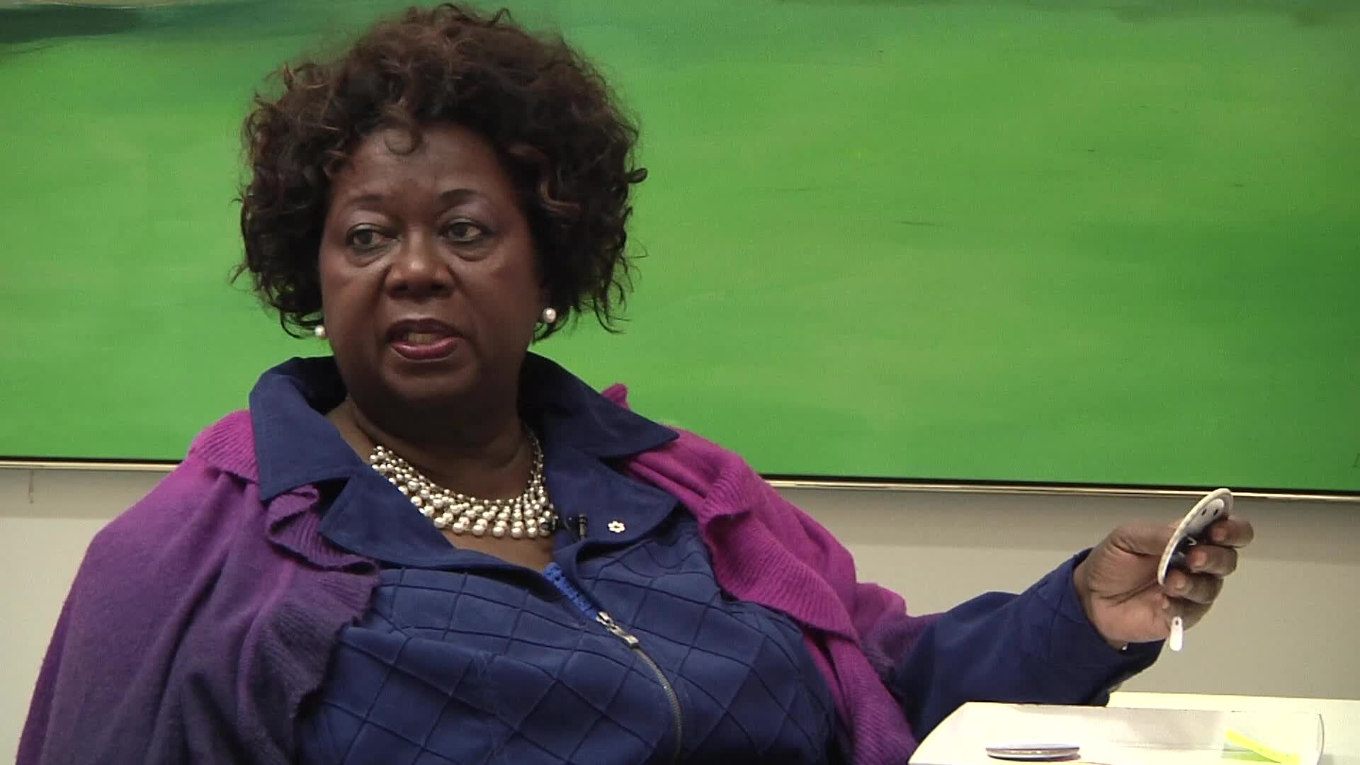 Jean Augustine interview: April 17 1985 a date with equality button
