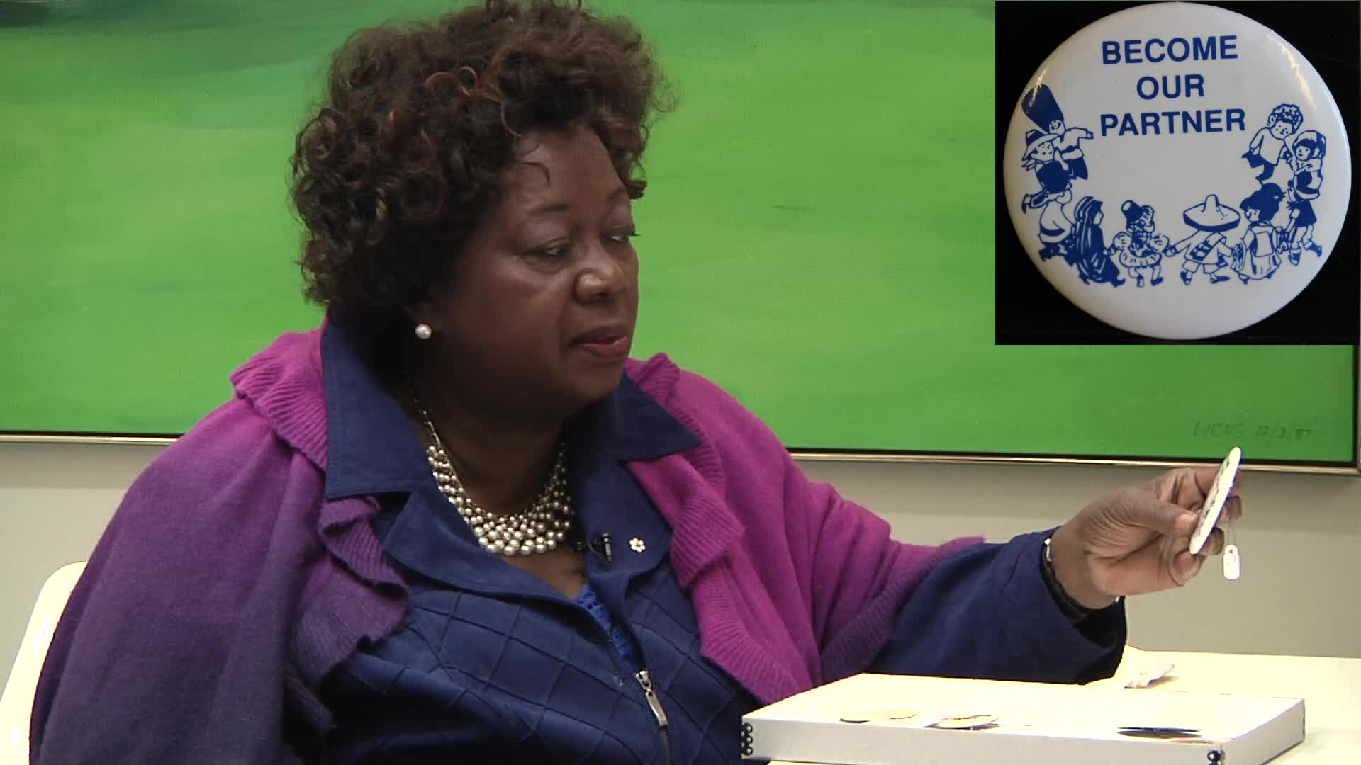 Jean Augustine interview: Become our partner button