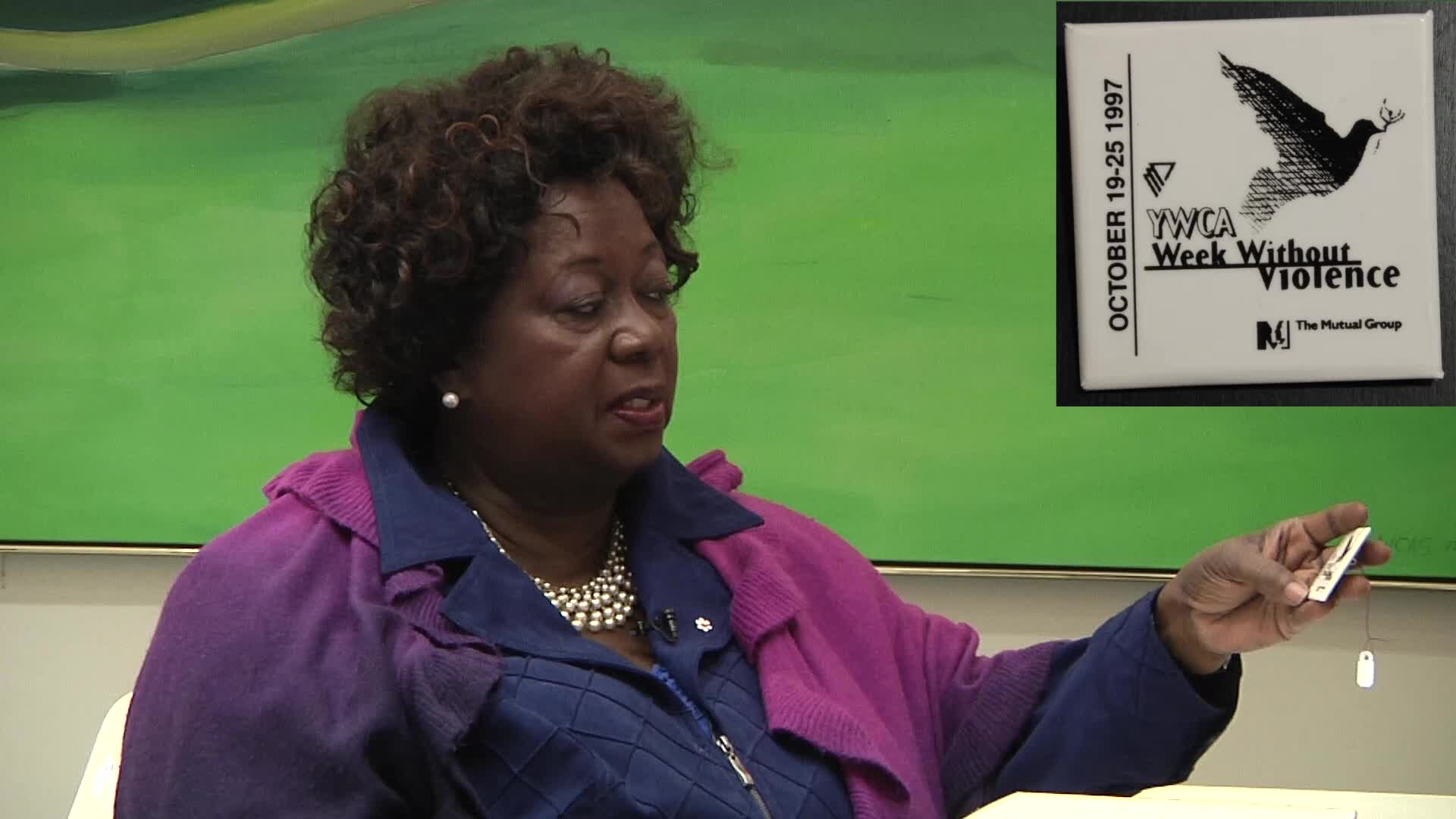 Jean Augustine interview: YWCA week without violence