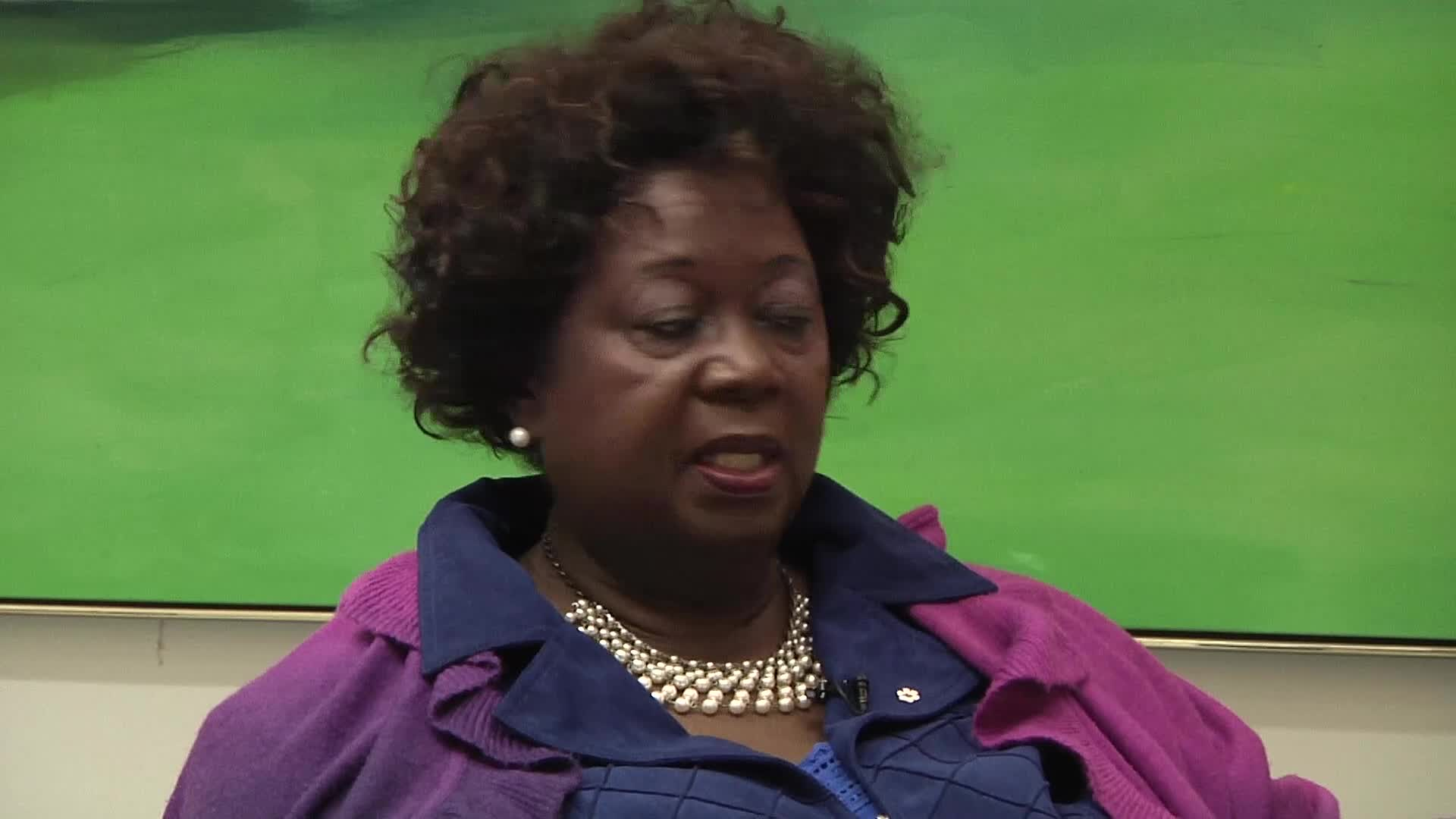 Jean Augustine interview: Canadian Heritage button