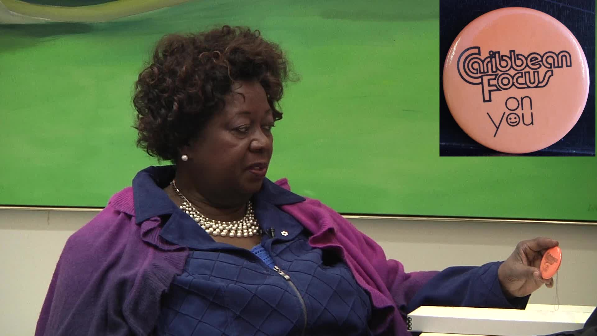 Jean Augustine interview: Caribbean Focus on you button