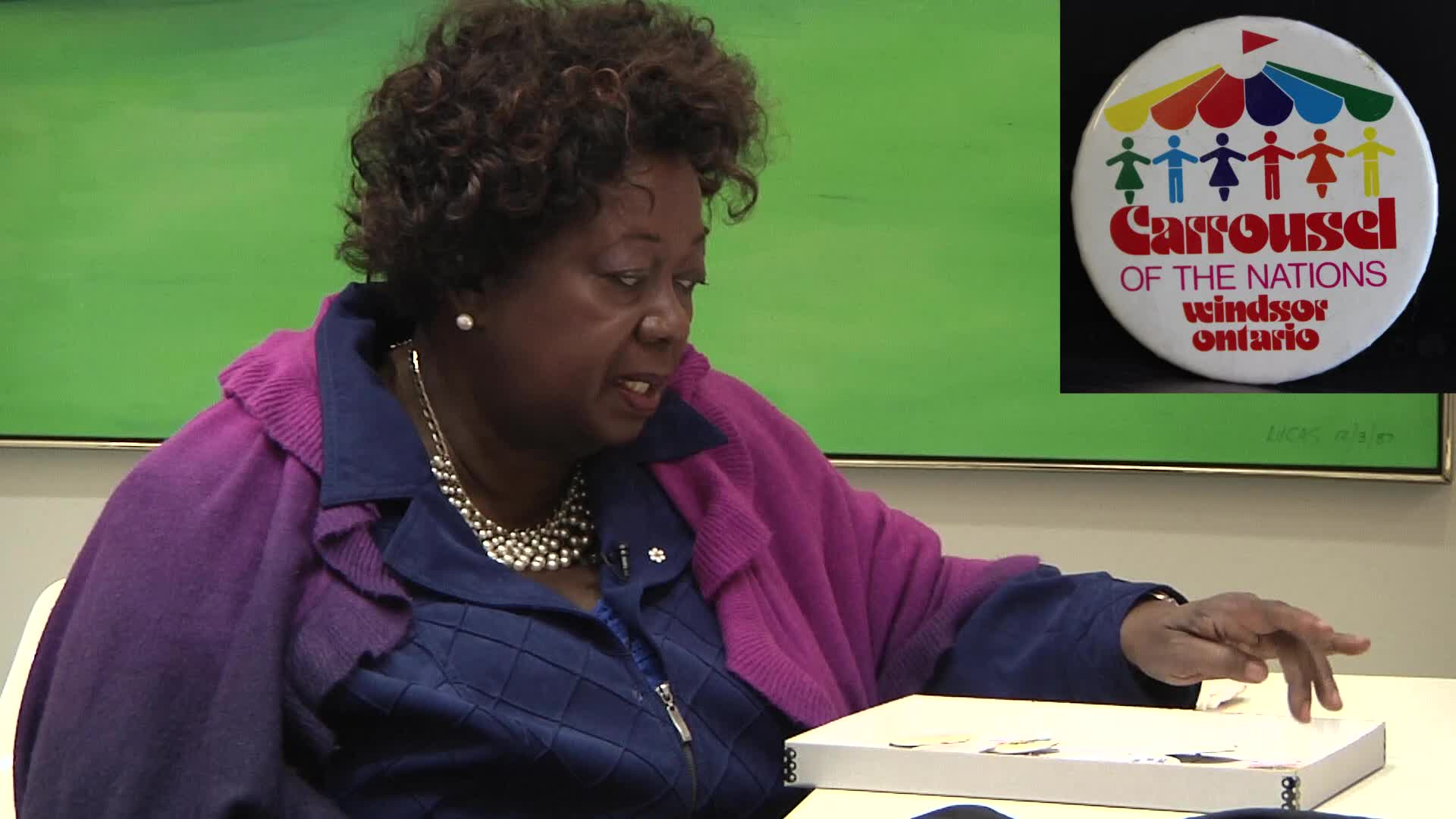 Jean Augustine interview: Carrousel of the Nations button