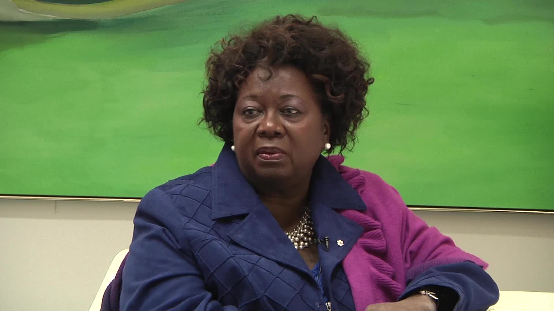 Jean Augustine interview: Buttons reflect Jean's passions